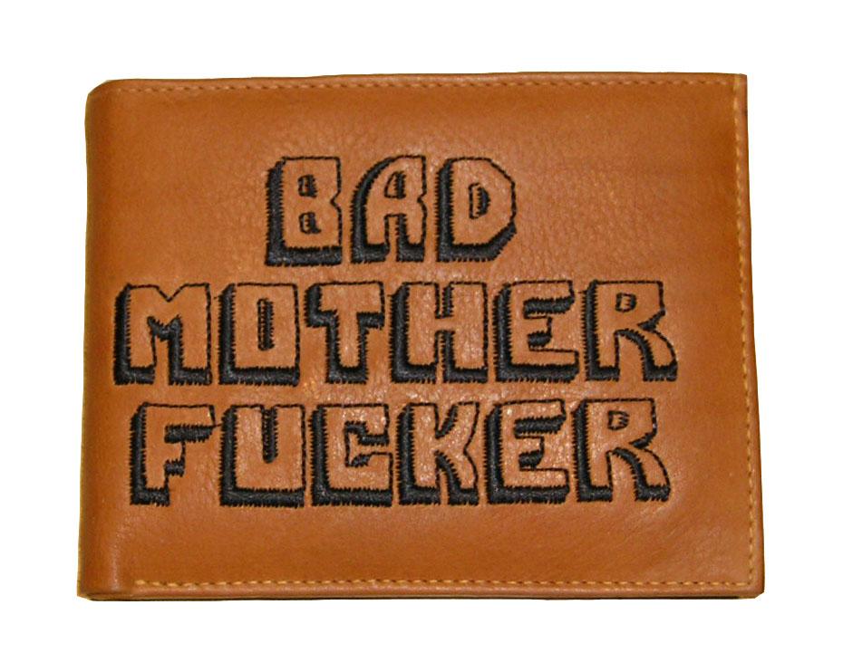 Pulpa fikcia peňaženka Bad matka kurva 100% kože