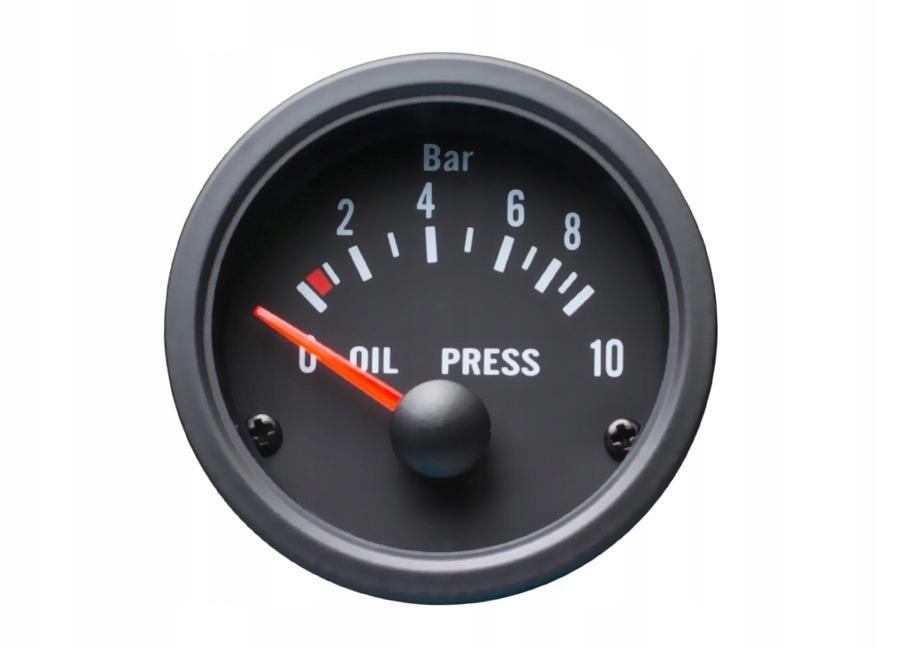 индикатор давление масла vdo look авто gauge 52mm
