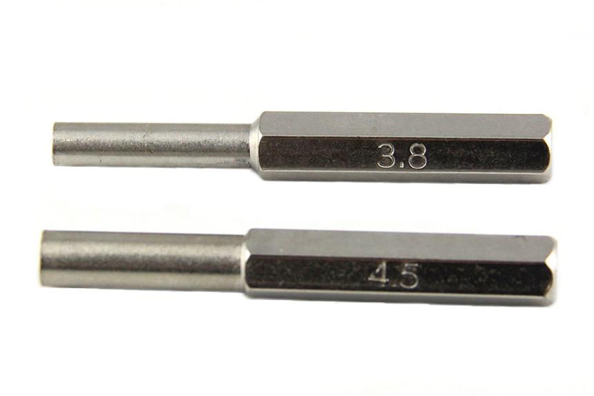 Set, 2 ks Bity Nintendo Kľúče 3.8 a 4,5 mm