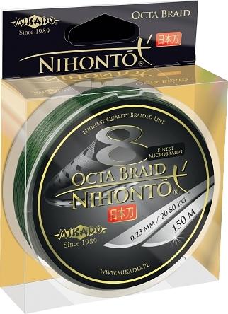 Mikado Nihonto Peňa Braid 0.16mm Zelená