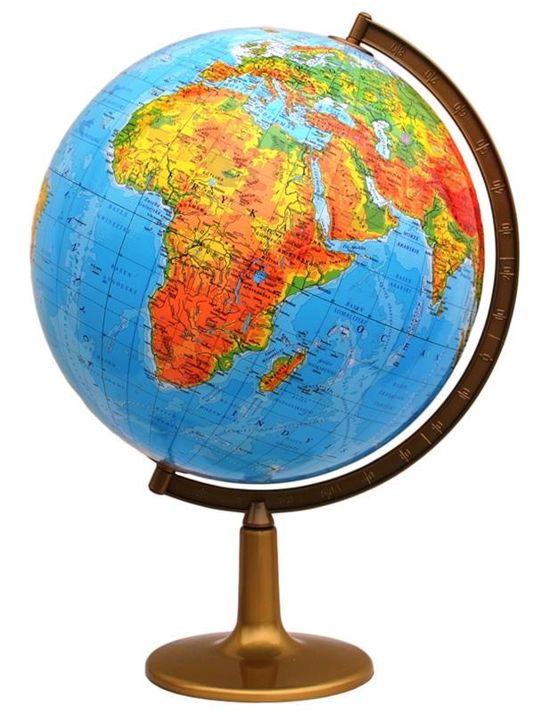 Globus 420 mm FYZICKEJ SK VEĽKÉ * stabilná základňa
