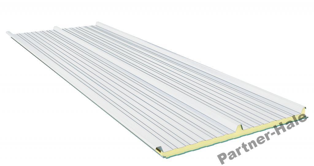 Sendvičová panelová vrstva doska polyuretán 120 mm