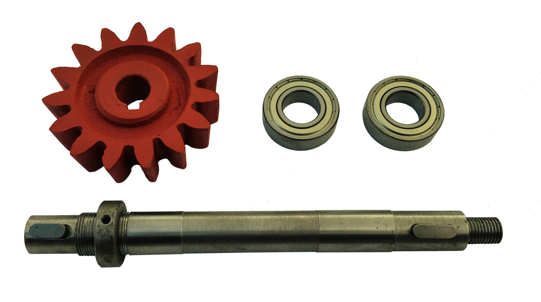Kruh Z-15 + Hnací hriadeľ + ložisko betonizer 150l