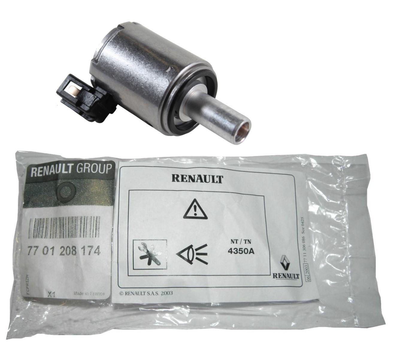 электроклапан клапан коробки автомат renault dp0 al4
