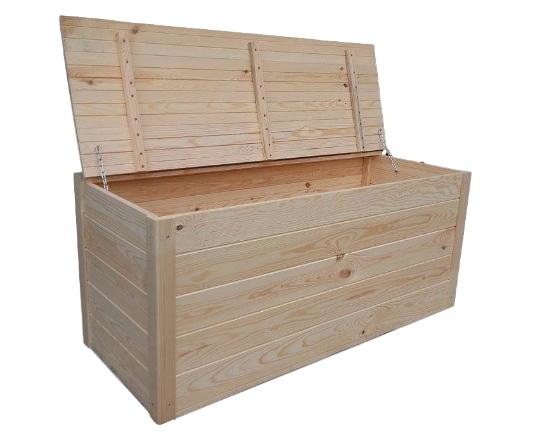 Drevený BOX HRUDNÍKA ZÁHRADNÉ LAVICE 120x50x50