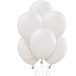 Balony biały mat, matowe balony! Pastel 100 Modne