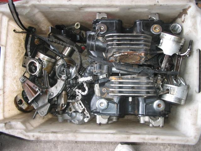 Honda Magna VF 750 Diely Motor