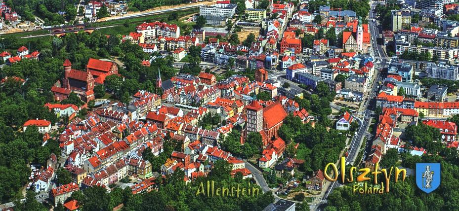 Olsztyn 03 - Panoramická pohľadnica