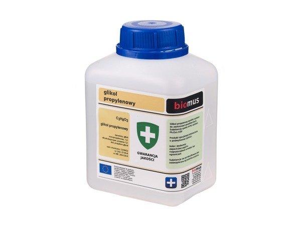 Пропиленгликоль чистый 99,9% BIOMUS 500 мл