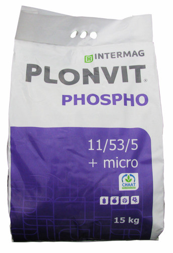 PLONVIT PHOSPHO 15kg nawóz dolistny kukurydza