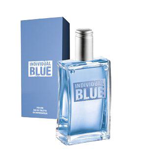 Item AVON INDIVIDUAL BLUE TOILET WATER.
