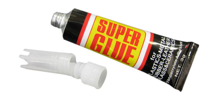 Клей SUPER GLUE СУПЕРКЛЕЙ CJANOPAN