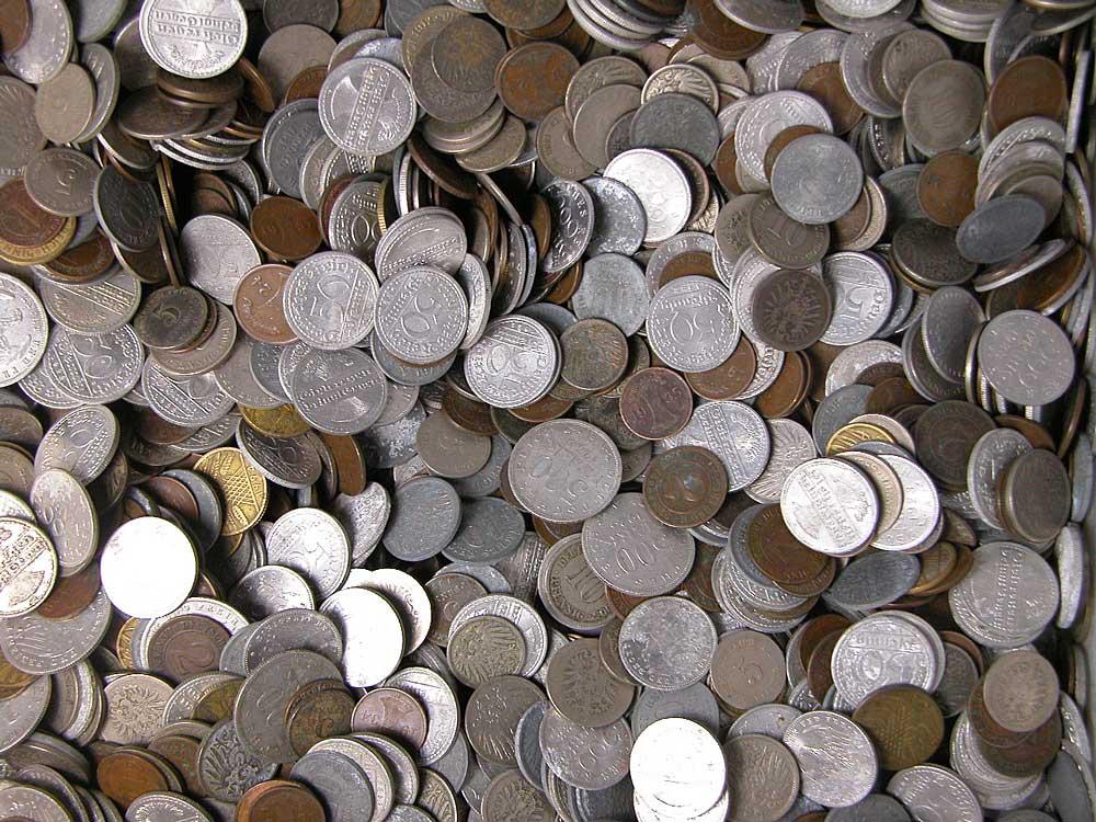 Nemecko - Predvojnové mince - 5 kilogramov - 5 kg