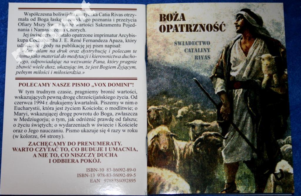 Božia Providence - C. Rivas Certifikát o smrti