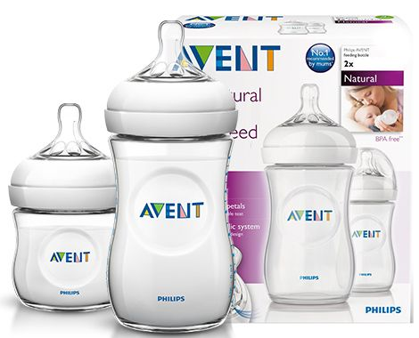 Item SET AVENT NATURAL Bottle 125 + 260 DUMMY 1 2