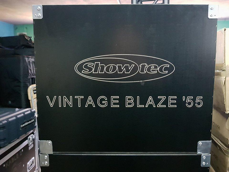 Showtec Prípade box Vintage Blaze