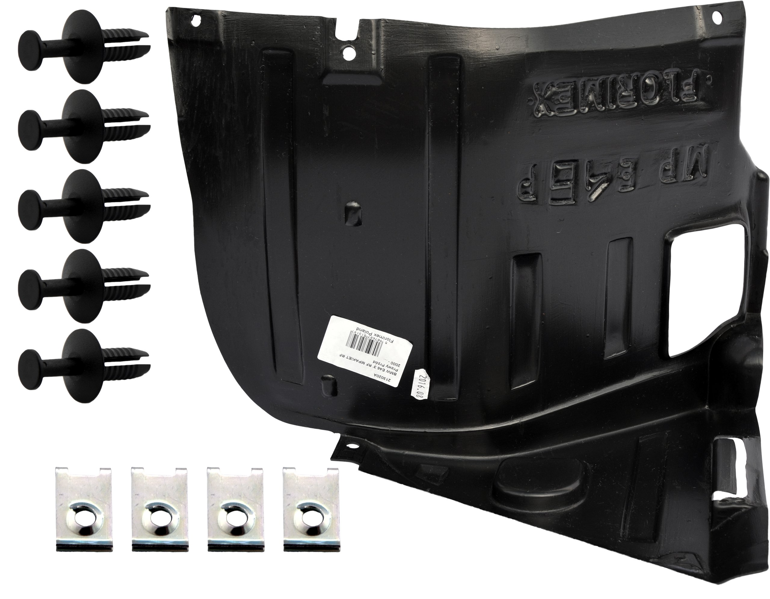 bmw 3 e46 e-46 m пакет m-pakiet локер колесной арки запонки