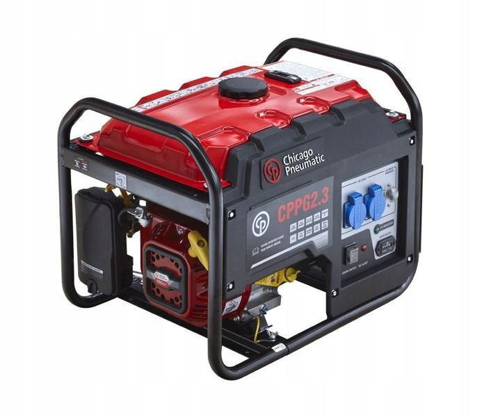 Aktuálny generátor Power 2.3 KVA AVR Chiacago pneumatické