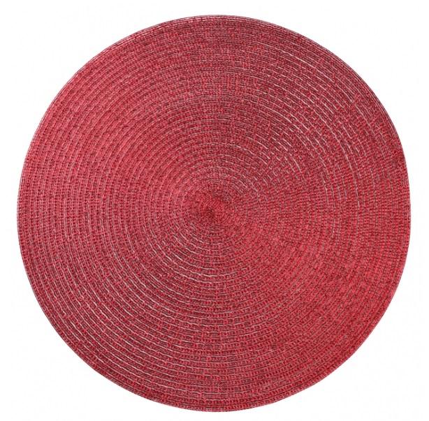 Matová podložka na stole 38 cm Glitter Red