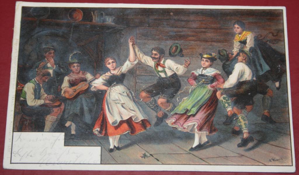 Folk tanec zábava