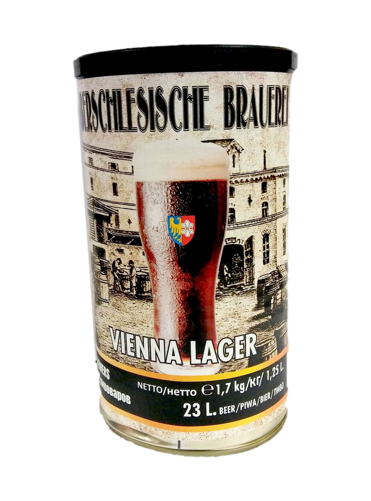 Купить Пиво домашнее brewkit OB VIENNA LAGER Бесплатно на Otpravka - цены и фото - доставка из Польши и стран Европы в Украину.