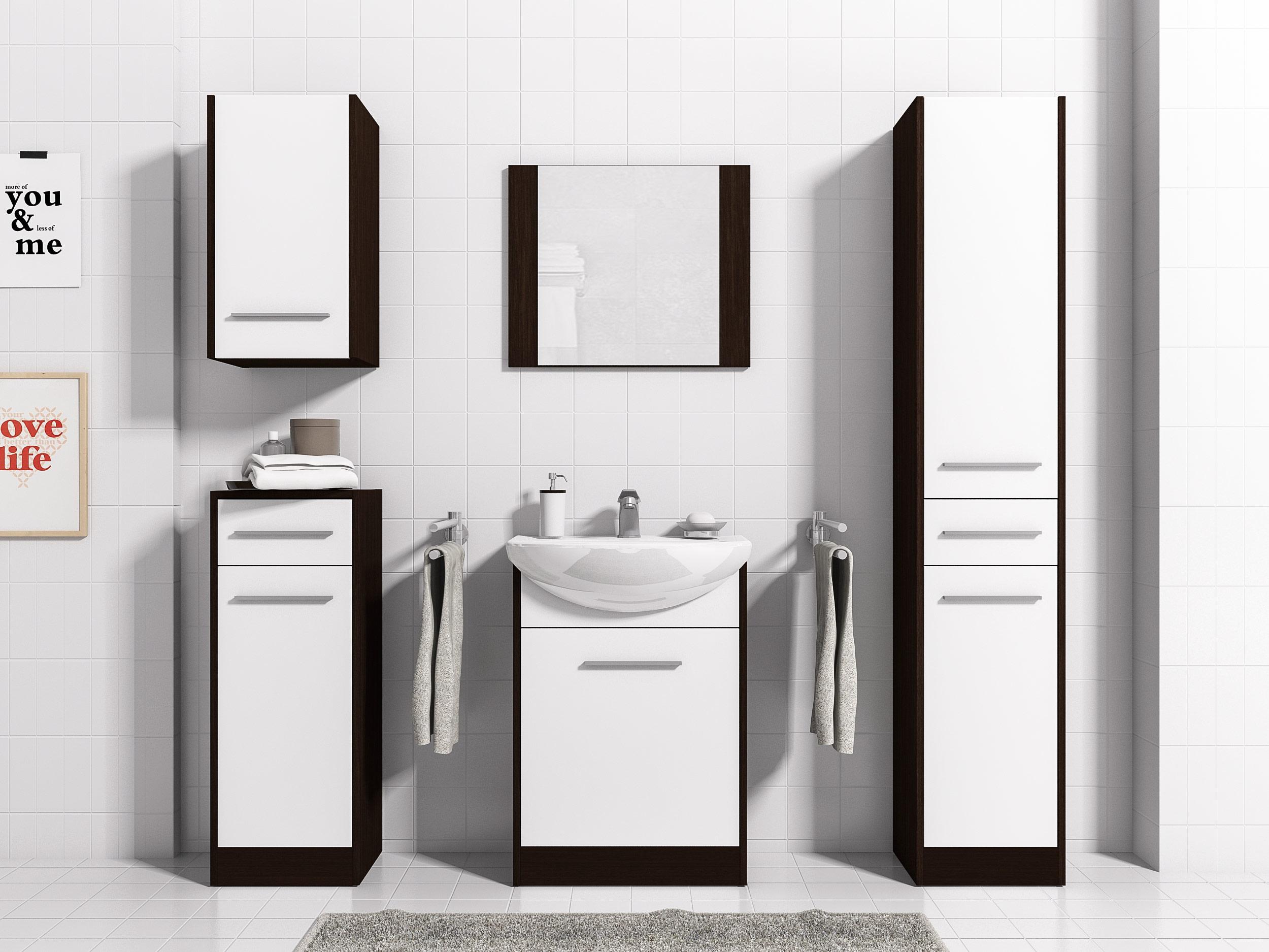 łazienka Slim 5 Szafki Lustro Najtaniej Meblohaus