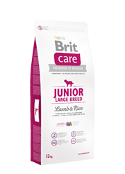 Brit CARE JUNIOR LARGE LAMB RICE 12 КГ TELEKARMA