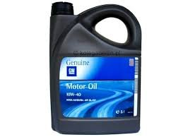 масло opel  gm 10w40 5l скорее всего
