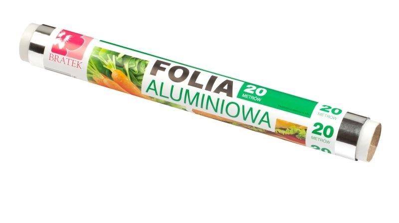 Folia aluminiowa spożywcza rolka 20m