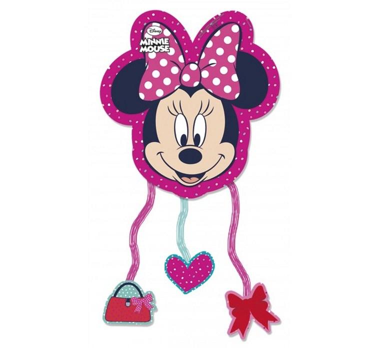 Narodeninové piny Mouse Minnie Miki dekorácie