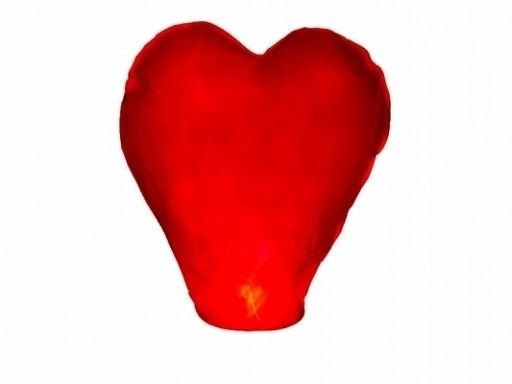 L Flying Lanterns Heart Heart Svadobné Svadba XL