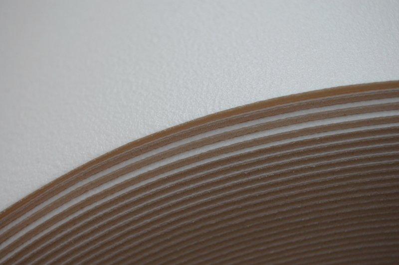 Koberec HRUBÉ PVC LINOLEUM hladké biele 200x500 @65595