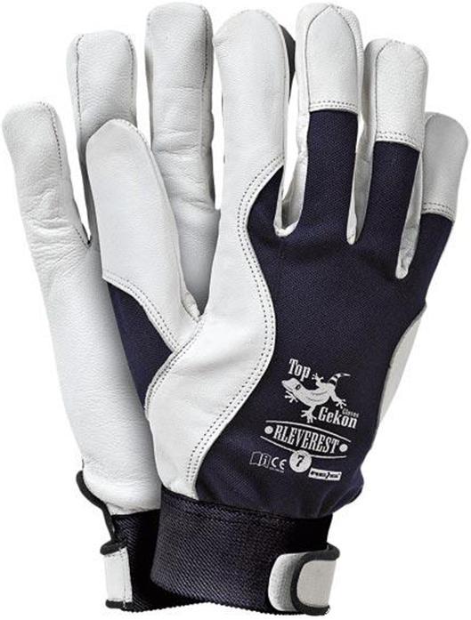 Pracovné rukavice Kozia Koža Monterskie Veľkosť: 7