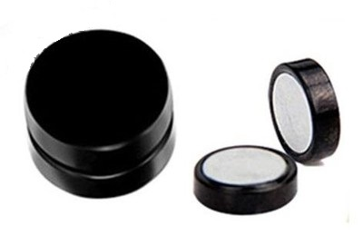 Item BLACK FAKE PLUG FOR a MAGNET STEEL Choice of 6, 8, 10 mm