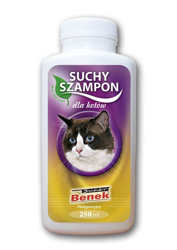 Suchy szampon pielęgnacyjny dla kota Benek 250ml