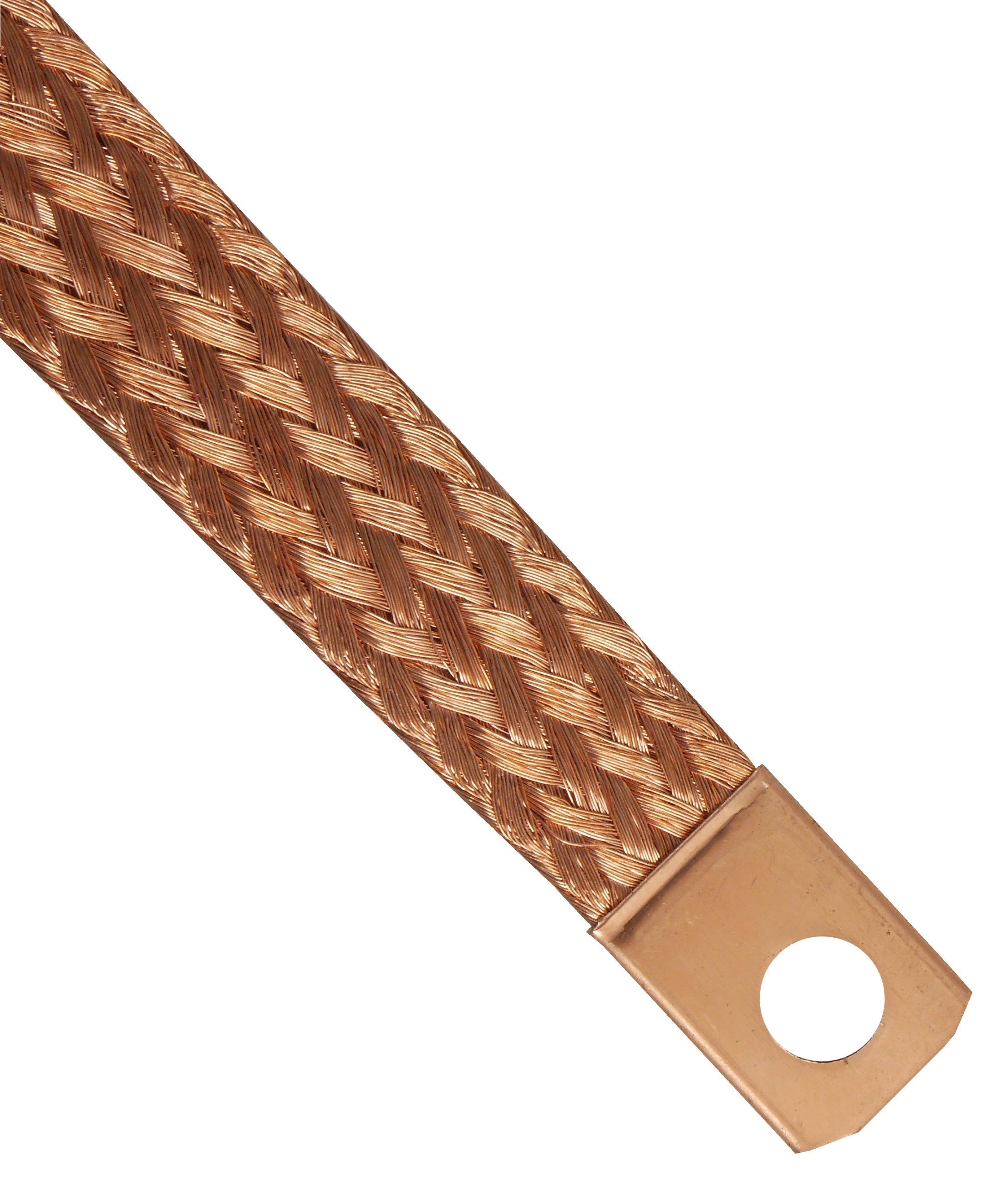 плетенка кабель кабель массы массовый 40cm медный