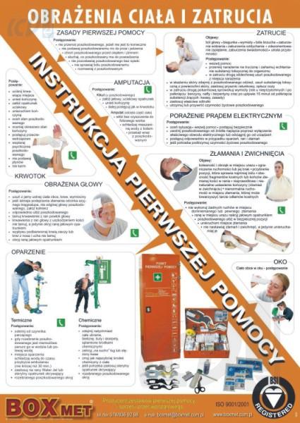Pokyny na pomoc Osobné zranenie a otravu