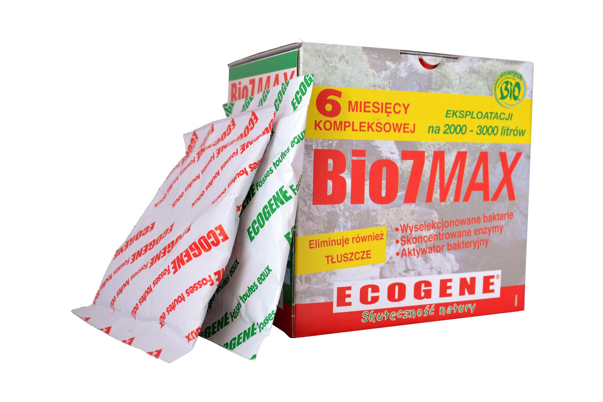 Bio MAX 7 1 kg BAKTÉRIÍ pre zariadenia na úpravu bio7