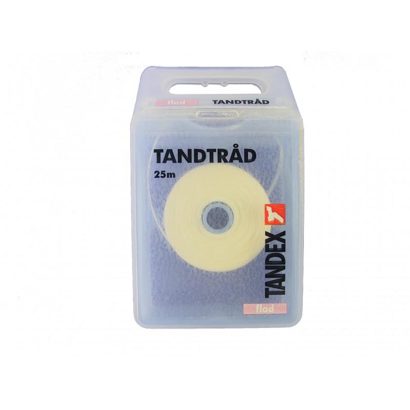 Tandex Zubná floss voskovaný zubový závit 5m