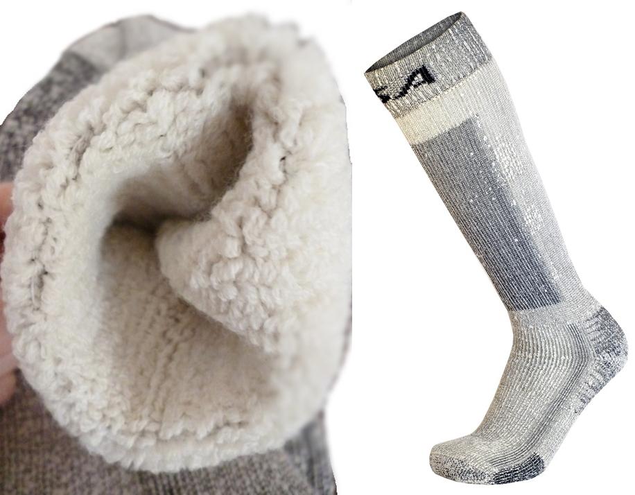 Zimné lyžiarske ponožky Merynosa M 39-42