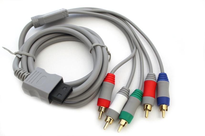 Káblová zložka pre Nintendo Wii 5x RCA / 5x kábel