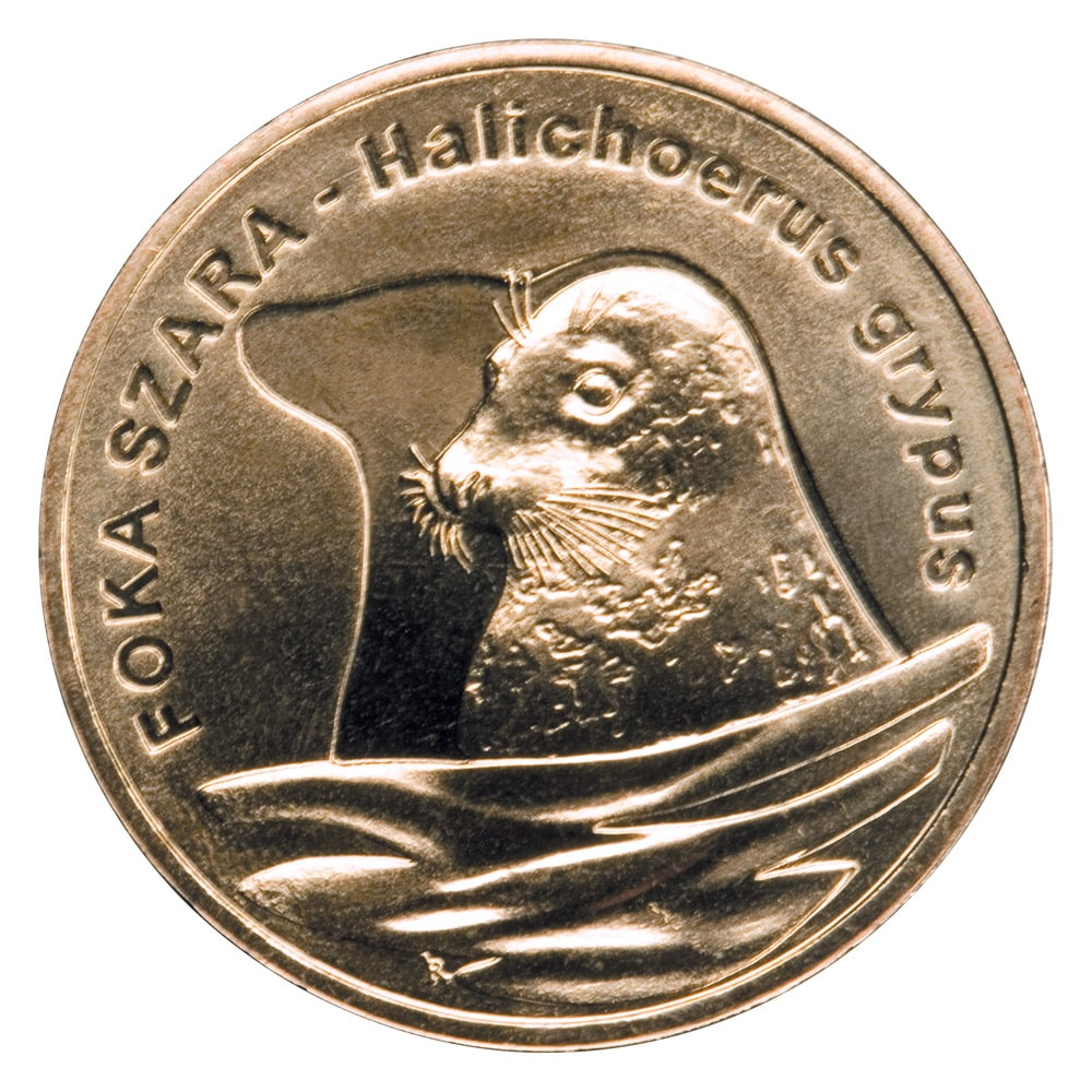 Монета 2  Печать серая