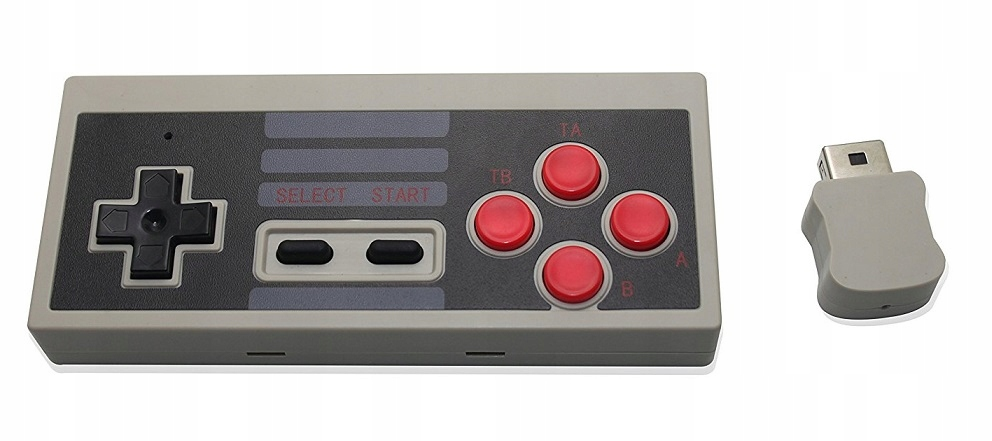 Item BRAND WIRELESS TURBO PAD MINI CLASSIC NES