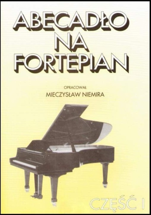 Item ALPHABET book for Piano cz.1 M. Niemira