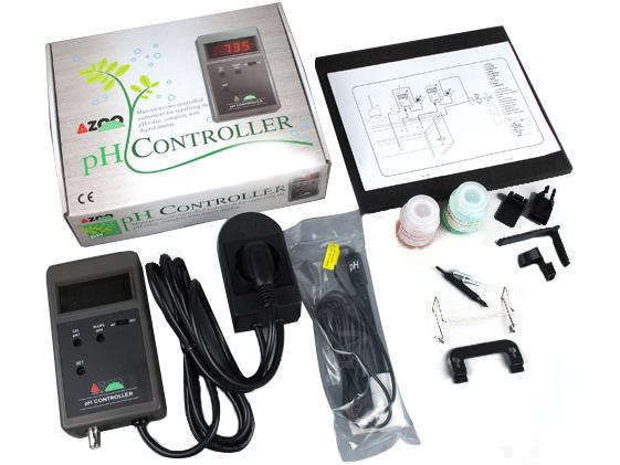 AZOO pH REGULÁTOR nastavený na meranie a kontrolu pH