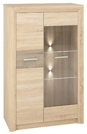 Витрина системная мебель для комнаты CASTEL 06 / S