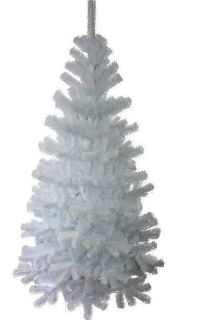 Vianočný strom umelý jedľa biela 180cm + stojan