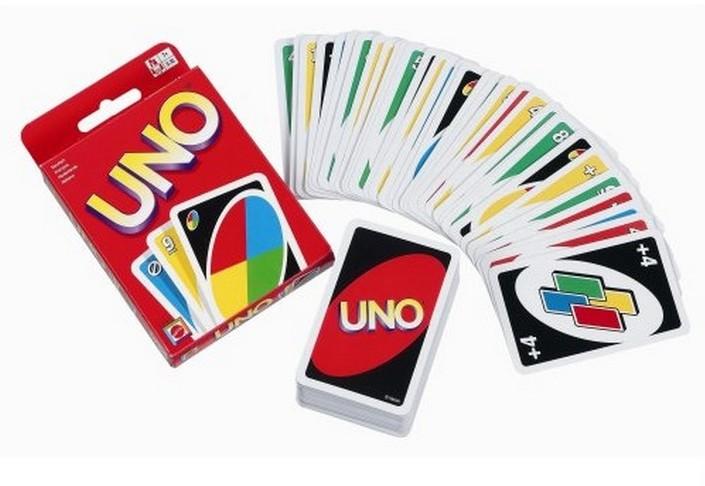 Karta hry UNO ORIGINAL / MATTEL / -