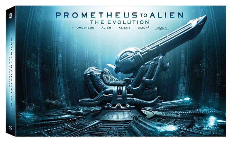 Item PROMETHEUS 3D / 2D - ALIEN: EVOLUTION [9x BLU-RAY]