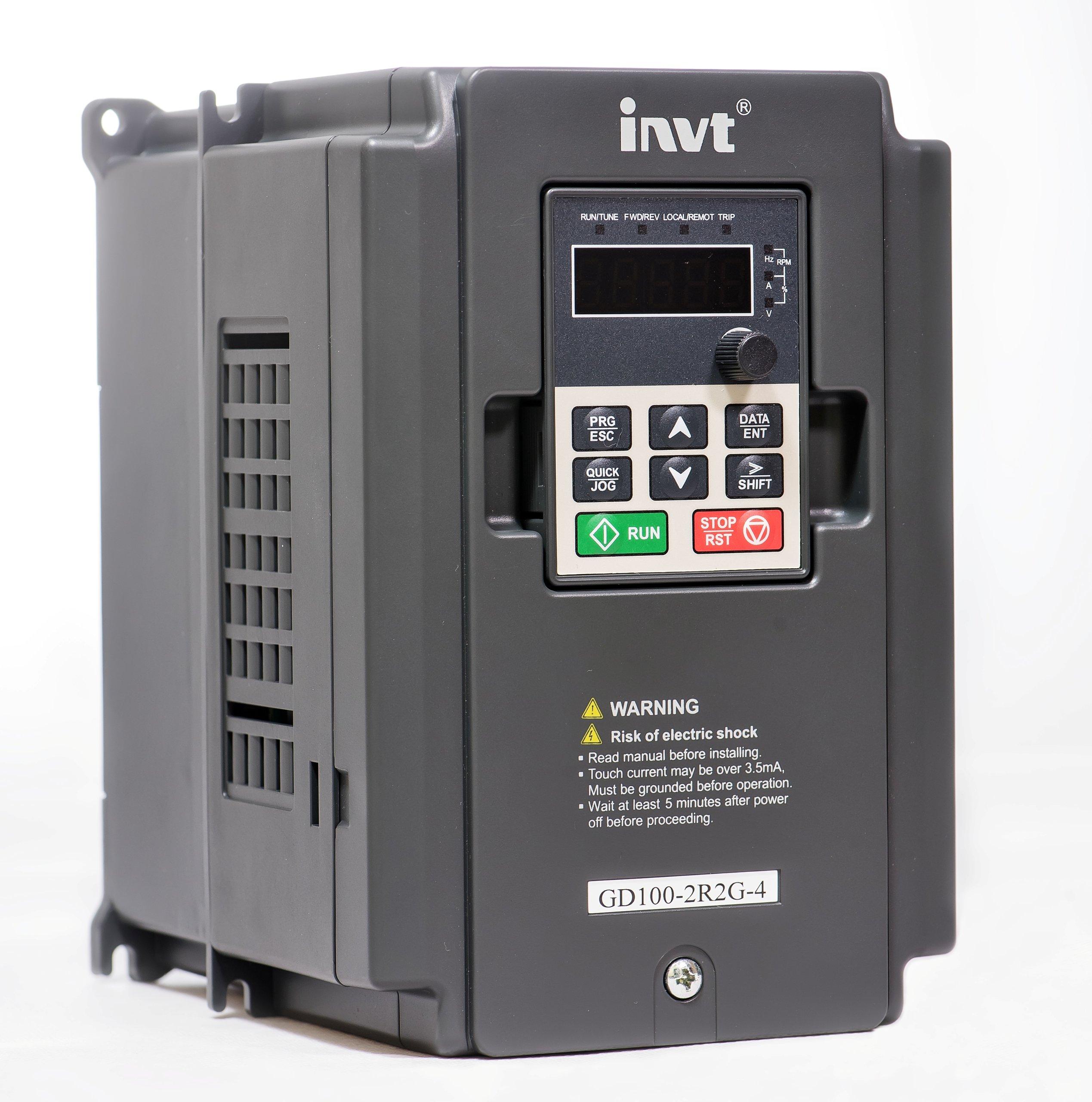 Falownik INVT 5,5kW 3f GD20-5R5G-4-EU wektorowy